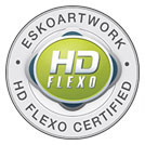 ESKO HD Flexo Certified Company